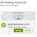 GoDaddy WordPress hosting - up & running