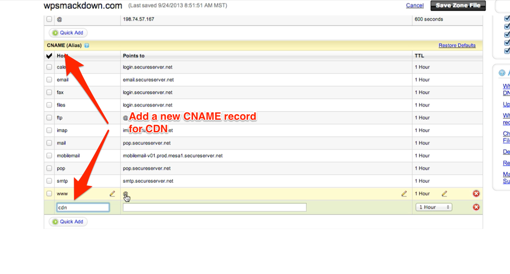How To Create A Cname Record In Godaddy Wp Smackdown