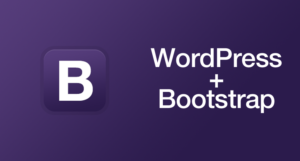 Bootstrap WordPress Theme - Loading CSS & Javascript