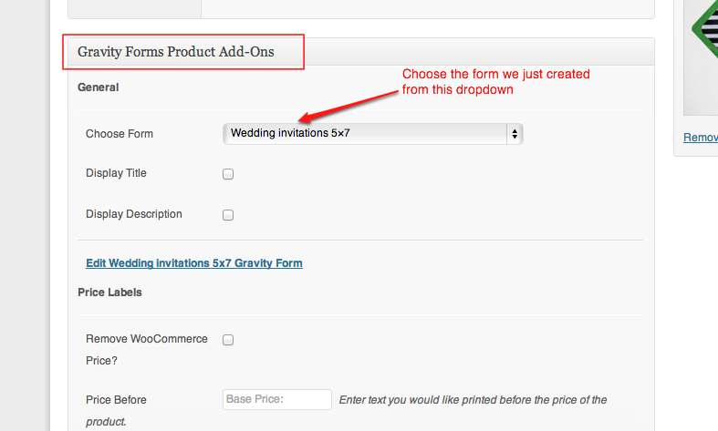 Remove Price Label From Woocommerce Gravity Forms Product Add Ons Wp Smackdown