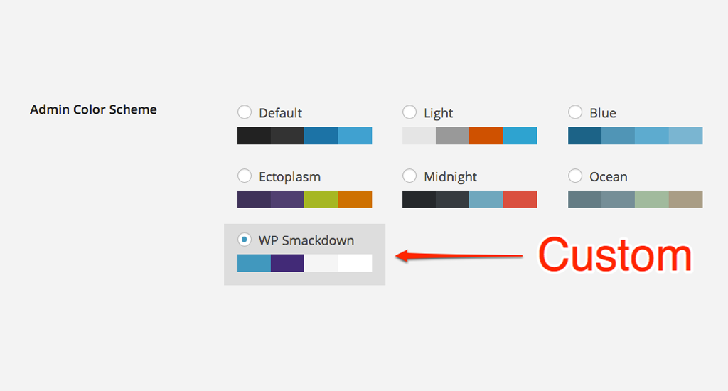 How to Create a Custom WordPress Admin Color Scheme