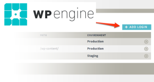 WP Engine - Add New User Account