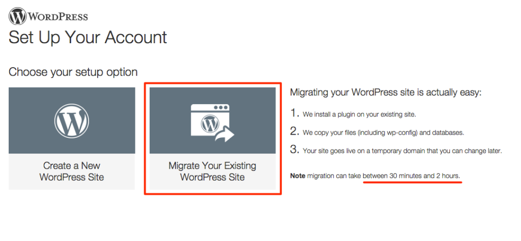 GoDaddy WordPress Hosting - Migrate Site