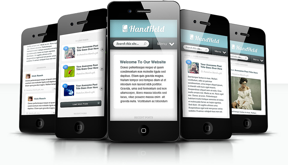 Handheld Mobile Plugin device preview
