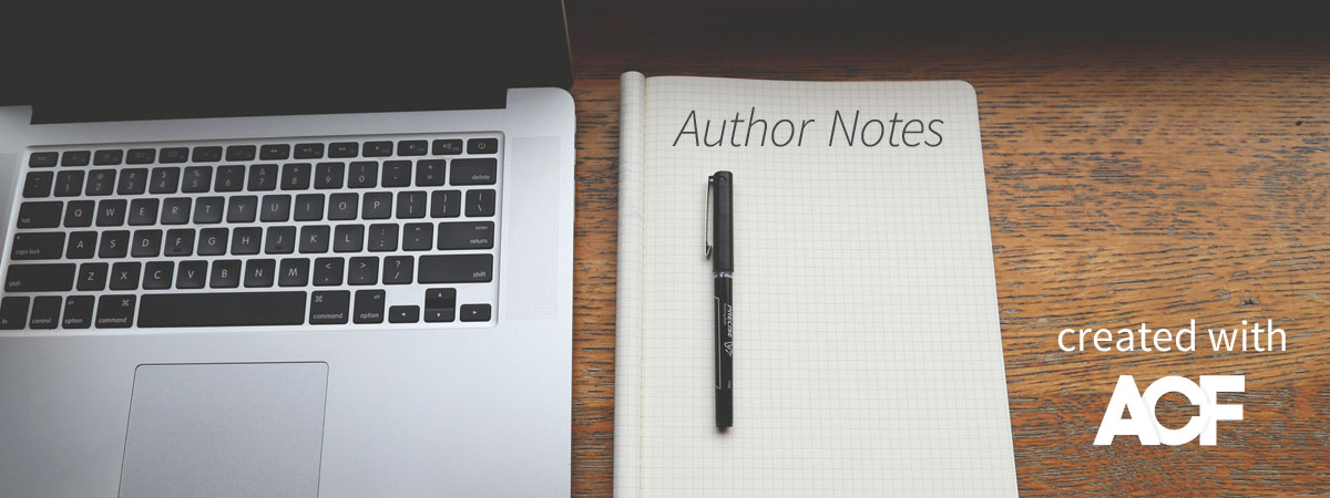 WordPress Author Notes using ACF