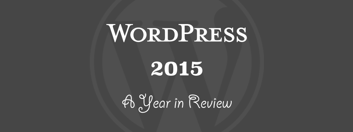 WordPress 2015 Year in Review