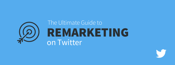 Twitter Remarketing Ultimate Guide