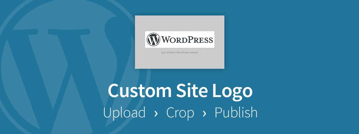 Add WordPress Site Logo in Customizer