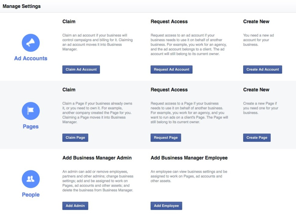 Facebook Business Manager claim ad account