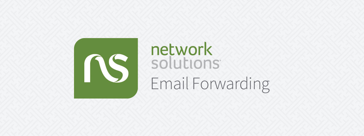 How to Setup Network Solutions Email Forwarding