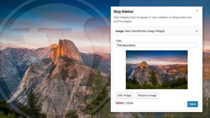 How to Add Image to WordPress Sidebar