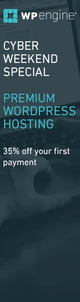 WP Engine Cyber Monday deal