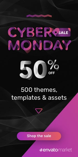 Envato Cyber Monday 2017 Sale