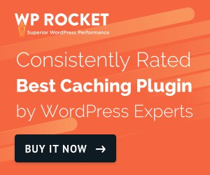 WP Rocket, best WordPress caching plugin