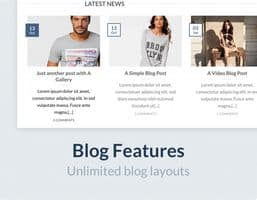 Flatsome theme blog layouts