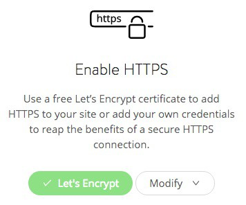 Kinsta's SSL setup options