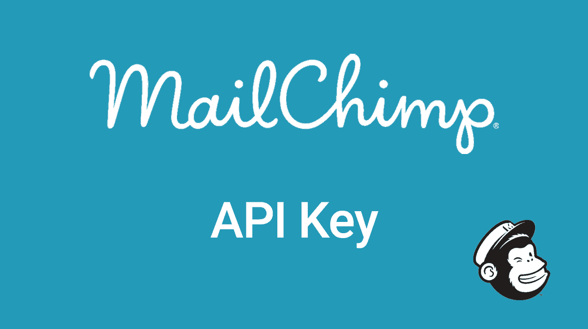 Find your MailChimp API key