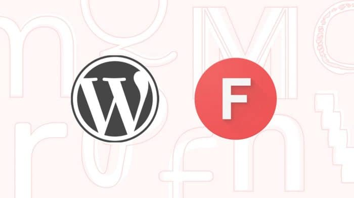 Google Fonts + WordPress