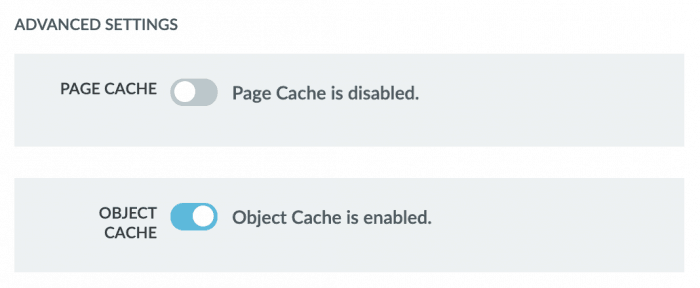 Liquid Web's caching options