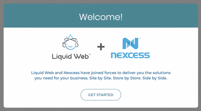 Liquid Web & Nexcess logos, side by side